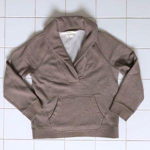J. Crew Shawl Collar Sweatshirt